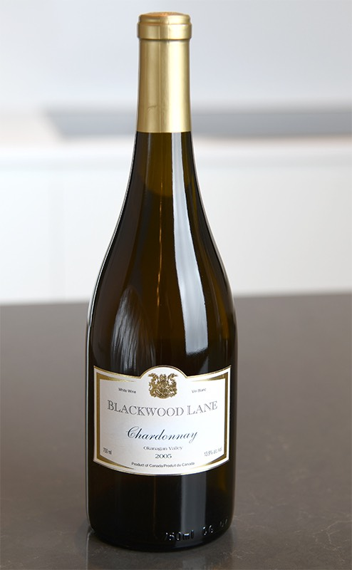 2005 Chardonnay from Blackwood Lane